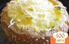 Фото рецепта: «Картофельный суп в хлебе»