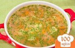Фото рецепта: «Суп из консервы горбуши»