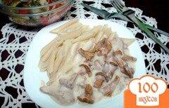 Фото рецепта: «Подливка из лисичек»