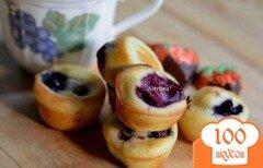 Фото рецепта: «Блинчики в мини формах для маффинов»