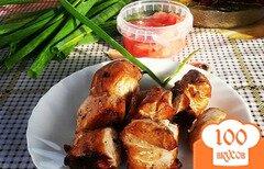 Фото рецепта: «Шашлык из курицы с соевым соусом»