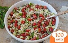 Фото рецепта: «Салат из кускуса с овощами»