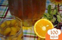 Фото рецепта: «Компот из рябины и апельсина»