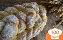Фото рецепта: «Базиликово-чесночный хлеб»