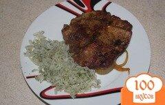 Фото рецепта: «Свинина в соевом соусе в духовке»