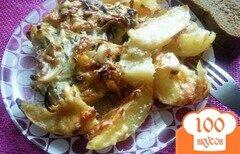 Фото рецепта: «Свинина с картофелем в духовке»