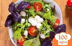 Фото рецепта: «Салат с моцареллой»