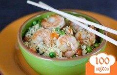 Фото рецепта: «Рис с креветками»