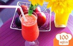 Фото рецепта: «Арбузно-апельсиновый смузи»