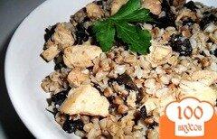 Фото рецепта: «Гречка с курицей и грибами»