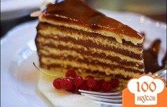 """Фото рецепта: «Тортик для """"новичков""""»"""