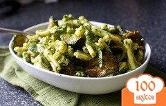 Фото рецепта: «Салат из цукини и макарон»