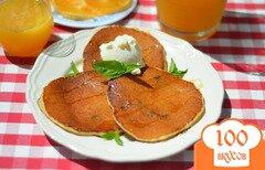 Фото рецепта: «Творожные блинчики с изюмом»