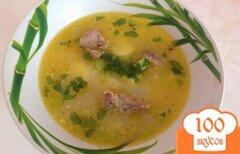 Фото рецепта: «Вермишелевый суп со сливками»