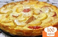 Фото рецепта: «Омлет с яблоками»