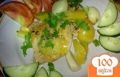 Фото рецепта: «Сотэ из куриного филе»