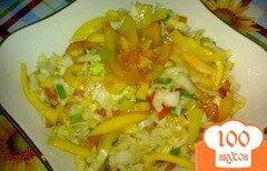 Фото рецепта: «Салат с капустой»