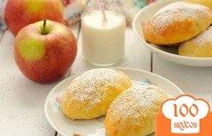 Фото рецепта: «Сочни с яблоками»