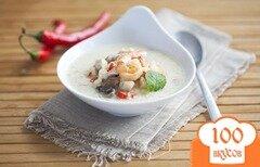 Фото рецепта: «Суп с креветками в мультиварке»