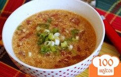 Фото рецепта: «Китайский суп из томатов»