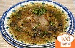 Фото рецепта: «Чечевичный суп с грибами»