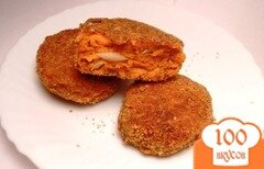 Фото рецепта: «Рыбные котлеты из хека»
