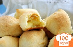Фото рецепта: «Пирожки-малышки «слоеные» скороспелые... из чудо-теста...»