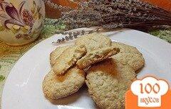 Фото рецепта: «Печенье овсяное на сметане»