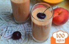 Фото рецепта: «Напиток из дыни с персиком»
