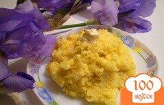 Фото рецепта: «Кукурузная каша с маслом»