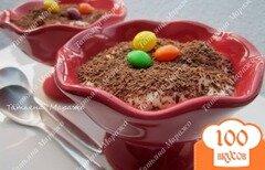 Фото рецепта: «Десерт с кусочками ананаса и кремом из сыра Маскарпоне»