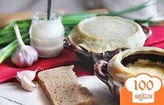 Фото рецепта: «Грибы в горшочке со сметаной»