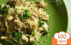 Фото рецепта: «Рис с курицей по-азиатски»