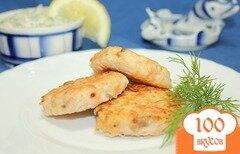 Фото рецепта: «Рыбные котлеты из горбуши»