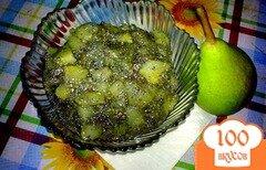 Фото рецепта: «Варенье из груш с маком»
