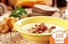 Фото рецепта: «Крем-суп из лисичек»