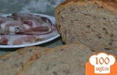 Фото рецепта: «Ржано-пшеничный хлеб с семечками»