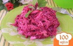 Фото рецепта: «Сытный свекольный салат»