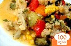 Фото рецепта: «Летнее рагу с кукурузой»