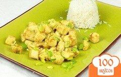 Фото рецепта: «Курица в соусе карри»