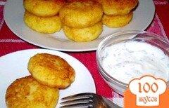 Фото рецепта: «Картофляники с сыром»