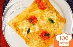 Фото рецепта: «Пицца Моцарелла»