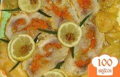 Фото рецепта: «Рыбный рулет в сырной корочке»
