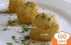 "Фото рецепта: «Рисовые шарики ""Темпура""»"