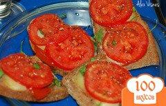 Фото рецепта: «быстрые горячие бутерброды»