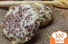 Фото рецепта: «Пышки с льняным семенем»