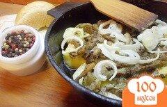 Фото рецепта: «Запеченый картофель с вешанками»