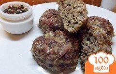 Фото рецепта: «Печеные котлеты из говядины и баранины»