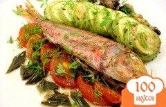 Фото рецепта: «Барабулька с овощами»