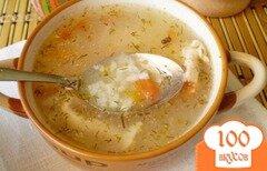 Фото рецепта: «Суп рисовый без зажарки»